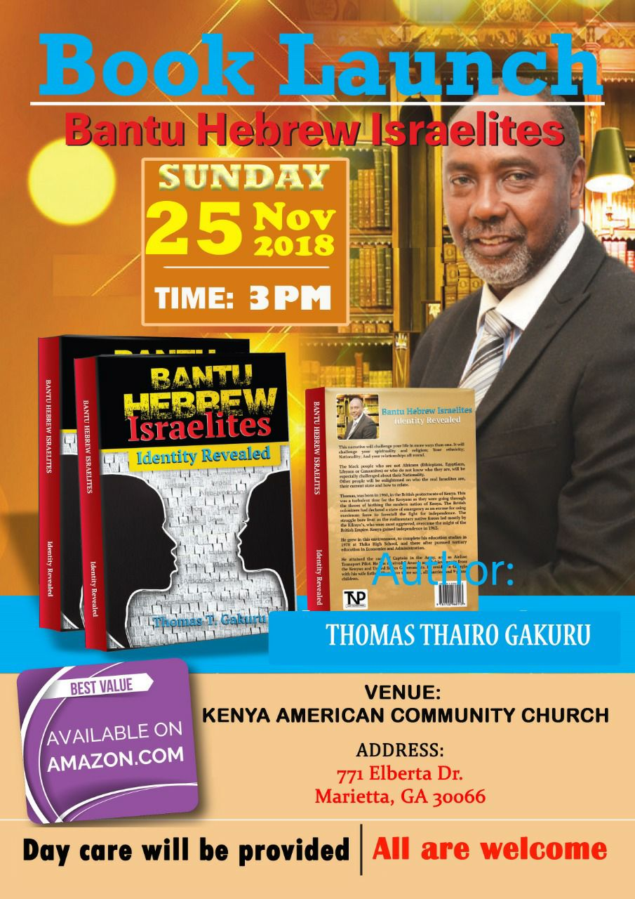 Book Launch Thomas Gakuru MYKENYANLINK